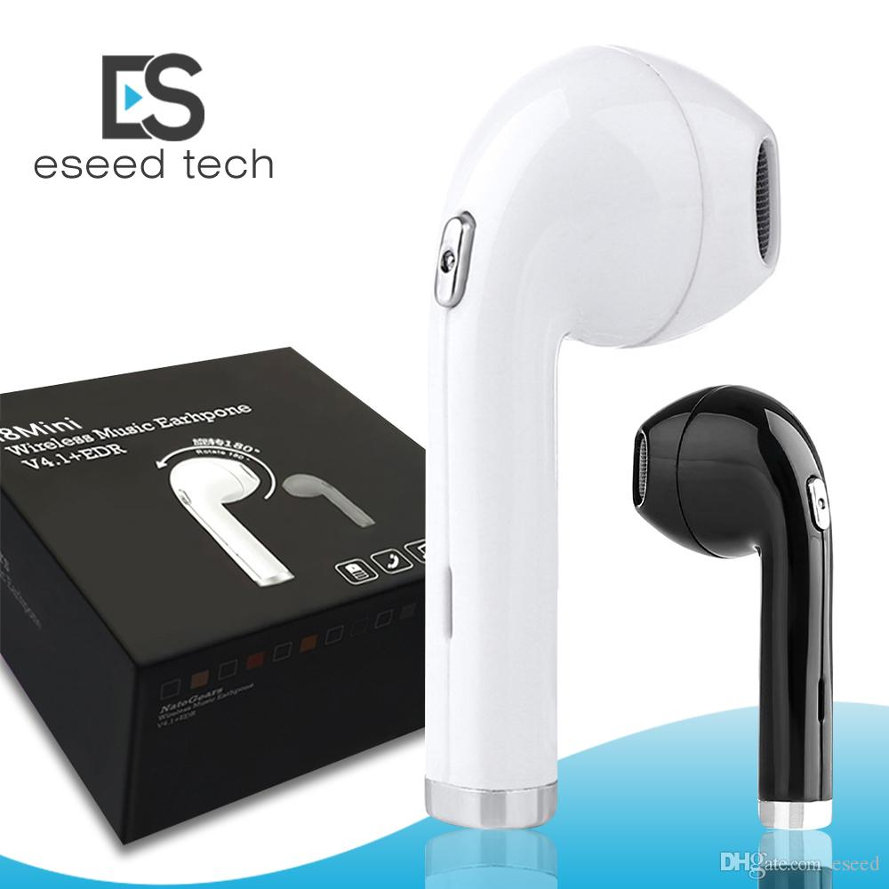 f2be591184f BHT I8 Mini Wireless Earphones Bluetooth 4.1 Earbuds 180 Degree Rotation  Stereo Headset For IPhone X Galaxy S8 With Retail Box PK HBQ I7 Cellphone  Headsets ...