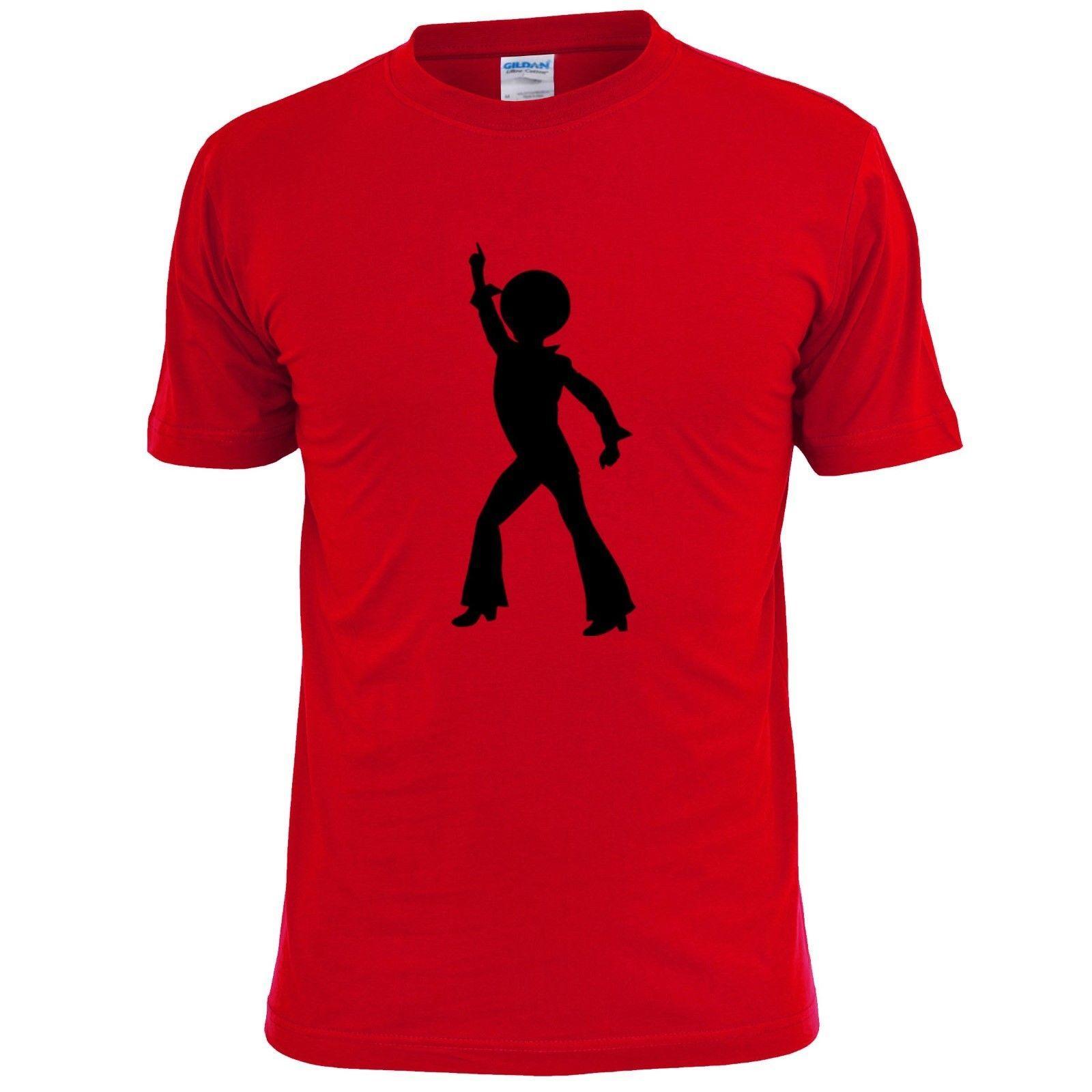 5471e2960 DISCO DANCER SILHOUETTE MENS T SHIRT MUSIC DANCING 70'S RETRO Casual Funny  Unisex Tee Gift 24 Hour Tee Shirts T Shirts T Shirts From Stop_to_shop, ...