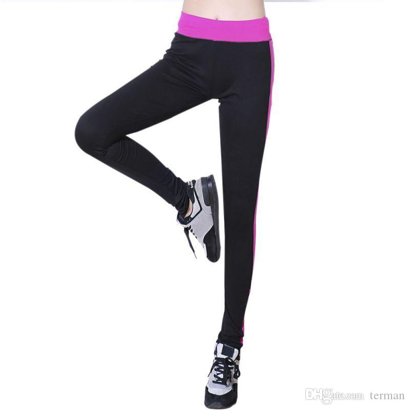 aa54e2f3e50e0 Women Sexy High Waist Sport Yoga Trousers Gym Fitness Leggings Stretch Slim  Pants Yoga Trousers Sport Yoga High Waist Sport Online with $35.32/Piece on  ...