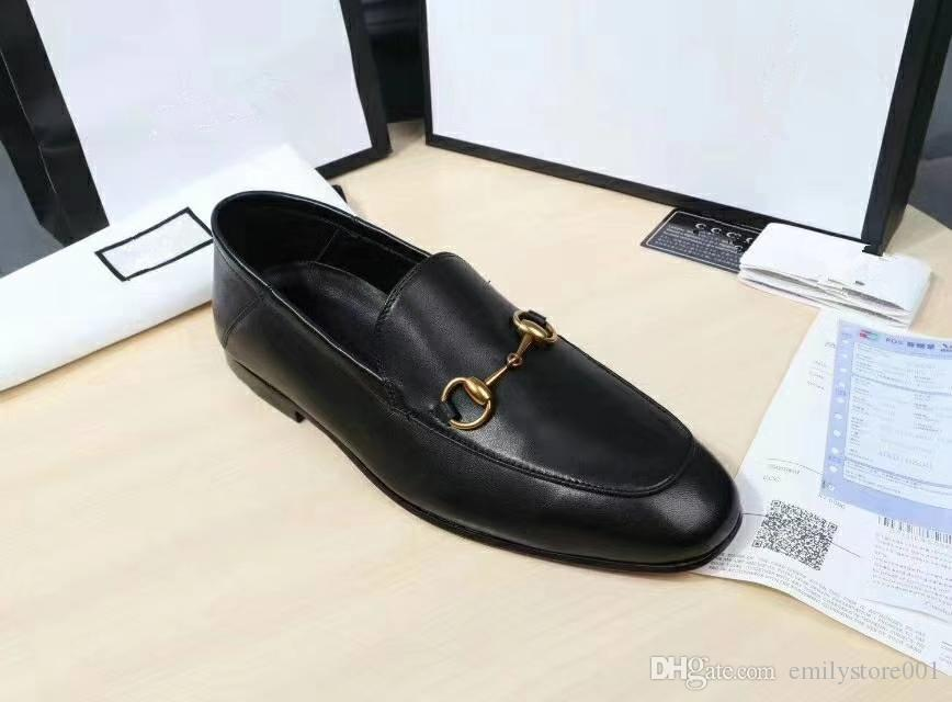 a80f7cd2f1c Luxury Designer Shoes For Men Light Horsebit Leather Loafer Heel Folded  Down Or Up Leather Sole Mens Moccasins Loafers Symbolic Gold Tone Shoes  Online ...