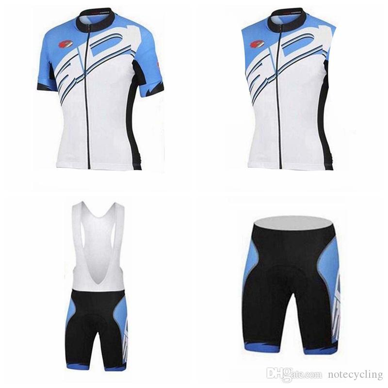 SIDI Cycling Short Sleeves Jersey Bib Shorts Sleeveless Vest Sets The  Latest Hot Summer Quick Drying Ropa Ciclismo Cycling Clothing A41743 Mens  Cycling ... 2a24ca80f