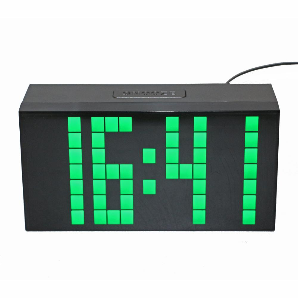 2018 Desktop Digital Alarm Clock Countdown Led 3 Inch Tall Digits Large Display With Temperature Calendar Date Wall Mount From Oopp 43 61 Dhgate