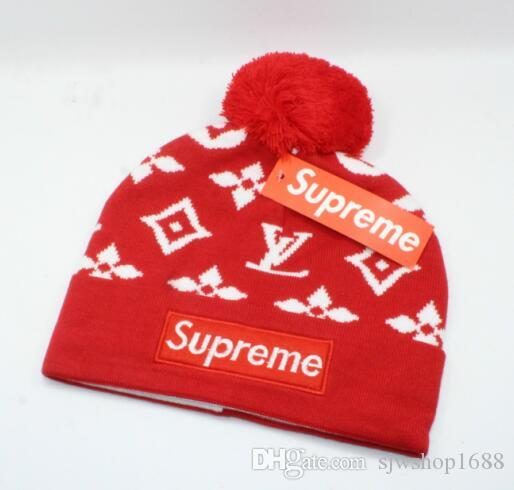 540eea2caeb 2018 New Fashion Hot Sale Winter And Autumn Warm Hat High Quality Hip Hop  Cap Men Women Knitted Caps Wool Hat Adjustable