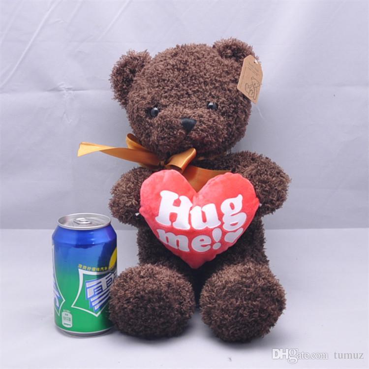 Muñeca del oso del suéter, muñeca del oso de peluche del oso de peluche, regalo de cumpleaños