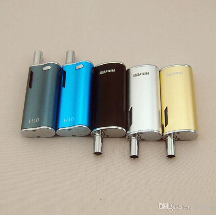 Hibron H10 510 Vapor BUD Starter Kit Cartridges With Upgraded CE3 Atomizer 650mah Box Mod Gold Vape Pen Magnetic Bin Vaporizer DHL