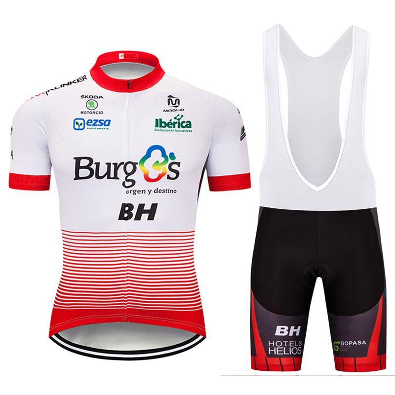 025c80042 2018 Team BH Short Sleeve Cycling Jersey 9D Gel Pad Bike Shorts Ropa ...