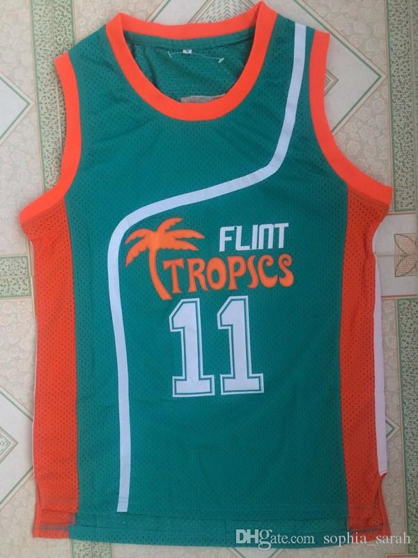 11 ED Monix Jersey Flint Tropics Semi Pro Movie Embroidered Green Mens  Basketball Jersey ED Monix Jersey Online with  69.31 Piece on  Sophia sarah s Store ... 43bd3dee2