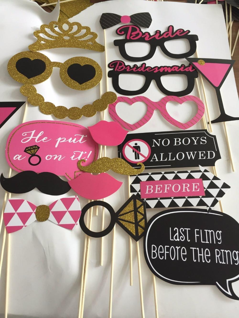 Photo Booth Props Party Mask glass Decoration Bachelorette Party Birthday Decoration Party Decorations Kids PB004/006