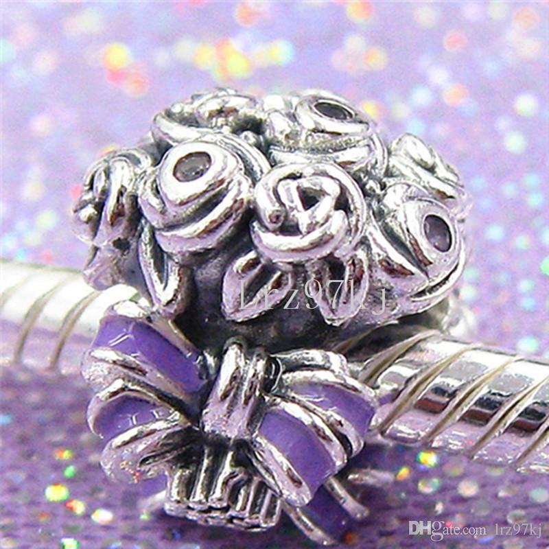 a3c1a2967 2019 2018 Mother'S Day 925 Sterling Silver Celebration Bouquet Charm Bead  Fits European Pandora Jewelry Bracelets Necklaces & Pendants From Lrz97kj,  ...