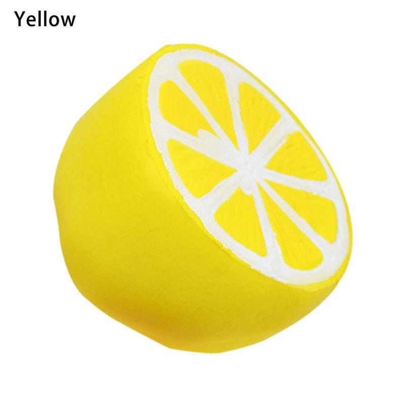 Slow Rising jumbo Squishy Lemon Fruit Toys 11cm size Kawaii Squishies Toy Doll Scented Decompression Fidget Toys