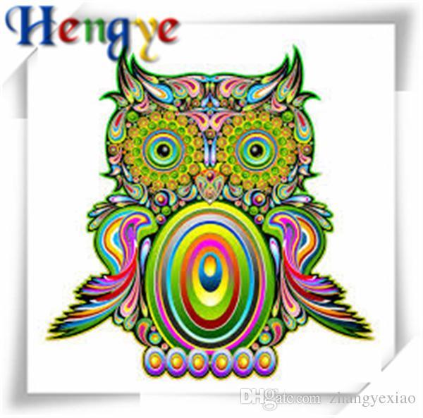 Rhinestone full round&square diamonds embroidery animal cute owl 5D diy diamond painting cross stitch kit home mosaic decor gift yx2827