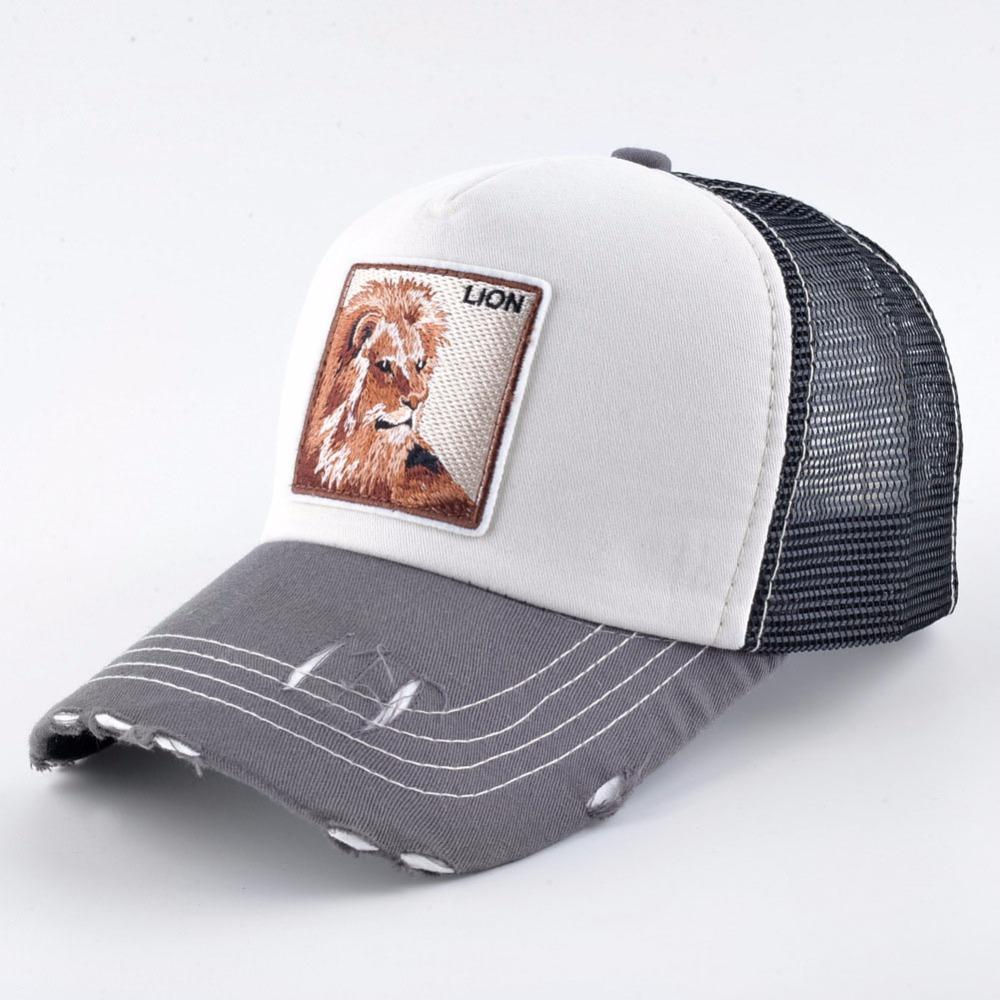 Compre 2018 Bordado Animal Gorras De Béisbol Sombrero De Hip Hop Moda  Transpirable Gorras De Malla De Verano Mujeres Snapback Hombres Gorras Al  Por Mayor A ... c39866acdda
