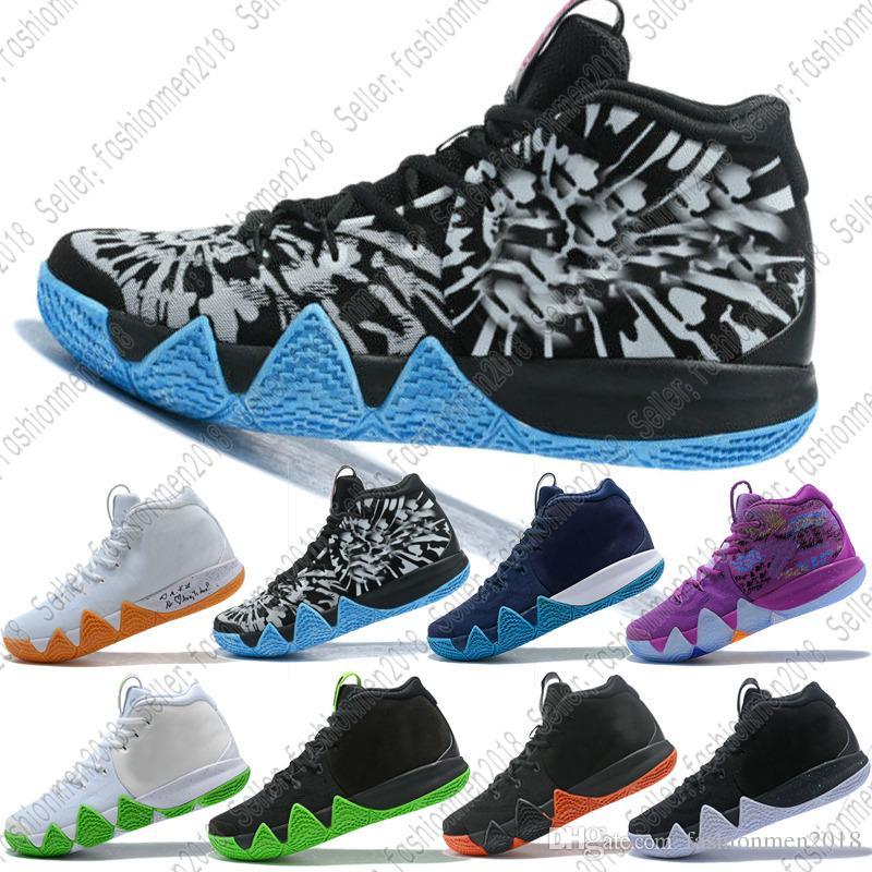 2a4641643f1 Großhandel mit Box Nike Kyrie 4 Ep City Guardians Heiße Förderung Kyrie Iv  Confetti Männer Turnschuhe Top Qualität Irving 4 Basketball Schuhe Rot  Outdoor ...