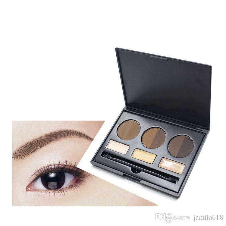 No Brand Eyebrow Kit With Brush Private Label Eye Brow Kit Eyebrow