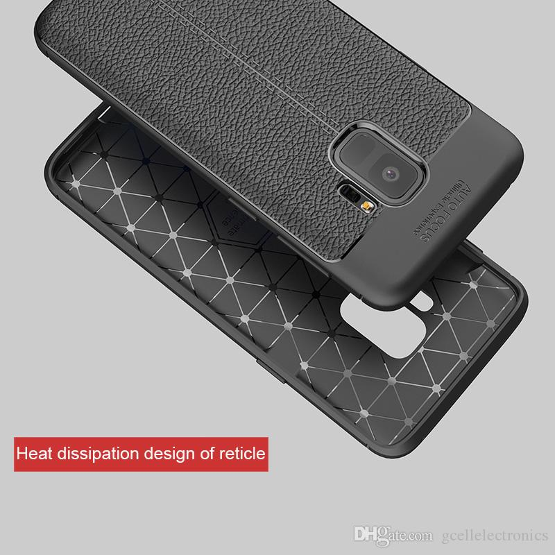 For Samsung Galaxy Note 20 Ultra S20 A11 A41 Huawei P40 Lite Pro Leather Design Luxury TPU Cell Phone Cases Litchi Texture Cover