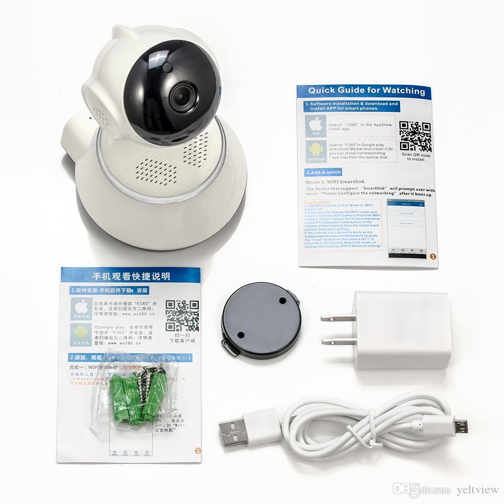 cámara de seguridad 720P / 960P Cámara IP Wifi Cámara de Vigilancia Inalámbrica P2P CCTV Wifi APP Gratuita V380 Seguridad para el Hogar Cam Vigilabebés