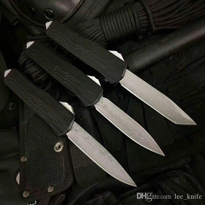 Special offer HIght Recommend Micr New Damaged Dragon E07 e07 Damascus Knife Hunting Folding Pocket Knife d2 copies