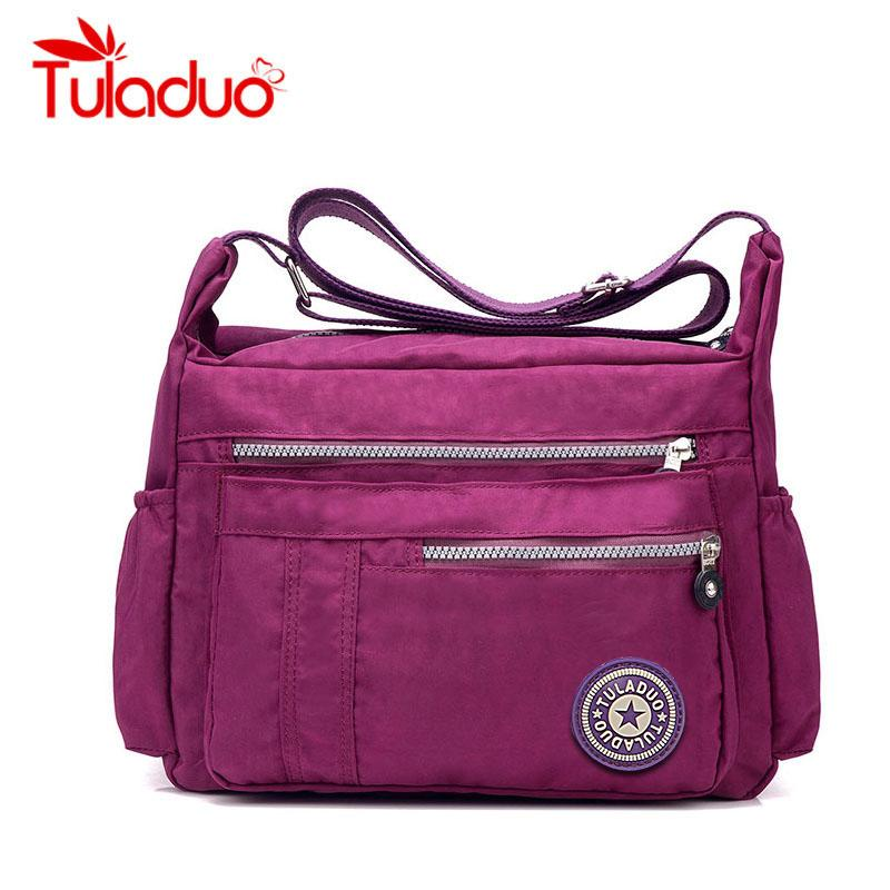 c11c7832f6 Women's Messenger Bags Ladies Nylon Handbag Travel Casual Original Bag  Shoulder Female High Quality Large Capacity Crossbody Bag