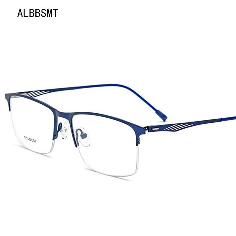 c0643c86bc 2019 2018 TR90 Titanium Glasses Frame Men Myopia Eye Glass Prescription  Eyeglasses 2018 Korean Screwless Optical Frames Eyewear From Mudiaolan