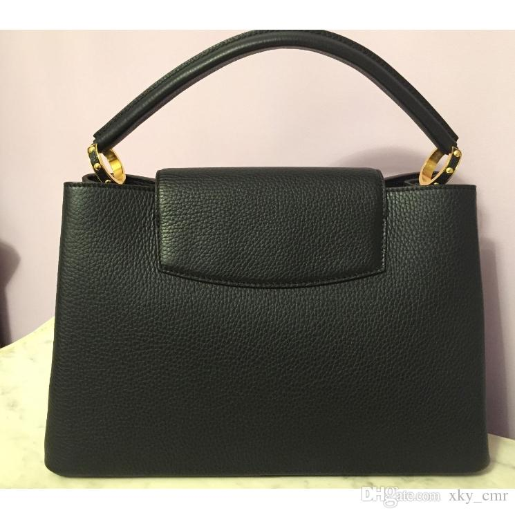 294822d9c6f0 Fashion Bags Cowhide Leather Women Handbags Top-Handle Bags Real ...
