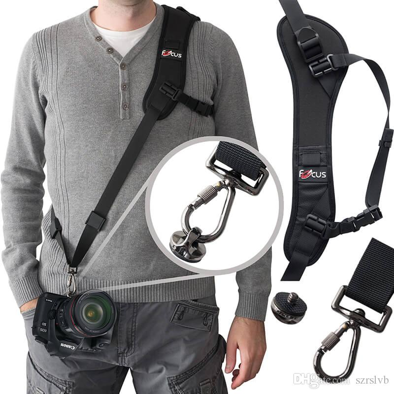 8529bc75cad 2019 Camera Shoulder Strap With Quick Release Plate