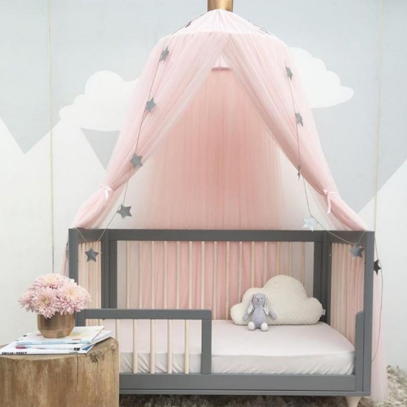 Grosshandel Runde Baby Bett Moskitonetz Dome Hangen Baumwolle Bett