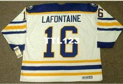 c9ad17bfb3b 2019 Mens #16 PAT LAFONTAINE Buffalo Sabres 1992 CCM Vintage Home Hockey  Jersey Or Custom Any Name Or Number Retro Jersey From Ttl123, $20.56 |  DHgate.Com