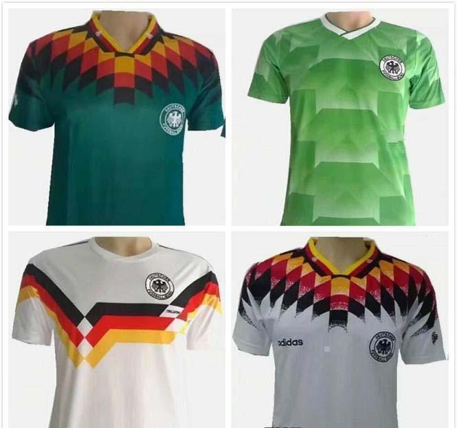 cfe9bda5857 ... france 2018 1990 world cup germany retro soccer jersey klinsmann  matthäus 1988 1994 world cup home