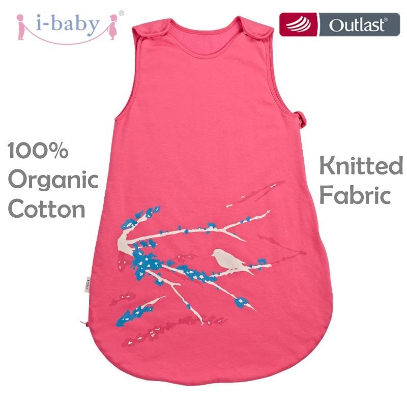 9f2c520037 I-baby Baby Sleeping Bag Cotton Baby Bedding Slumber Bags Sleeveless ...