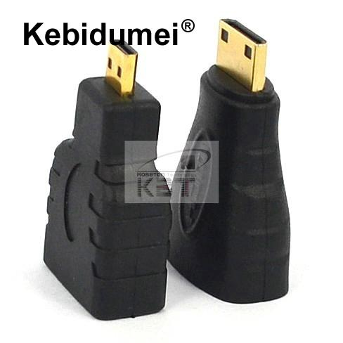 2pcs Mini Hdmi Male To Hdmi Female Computer Cables & Connectors Micro To Hdmi Gold Extension Adapter Connector For Vedio Tv For Xbox 360 Hdtv 1080 Fixing Prices According To Quality Of Products