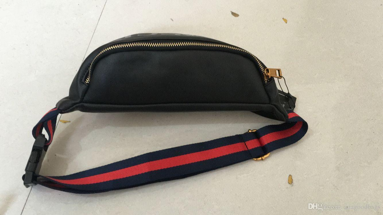 New Style High Quality Women Waist Bag Famous Brand Belt Bag Men Fanny Pack  Designer Men Waist Pack Pouch Small Graffiti Belly Waist Bags Q8 Backpacks  For ...