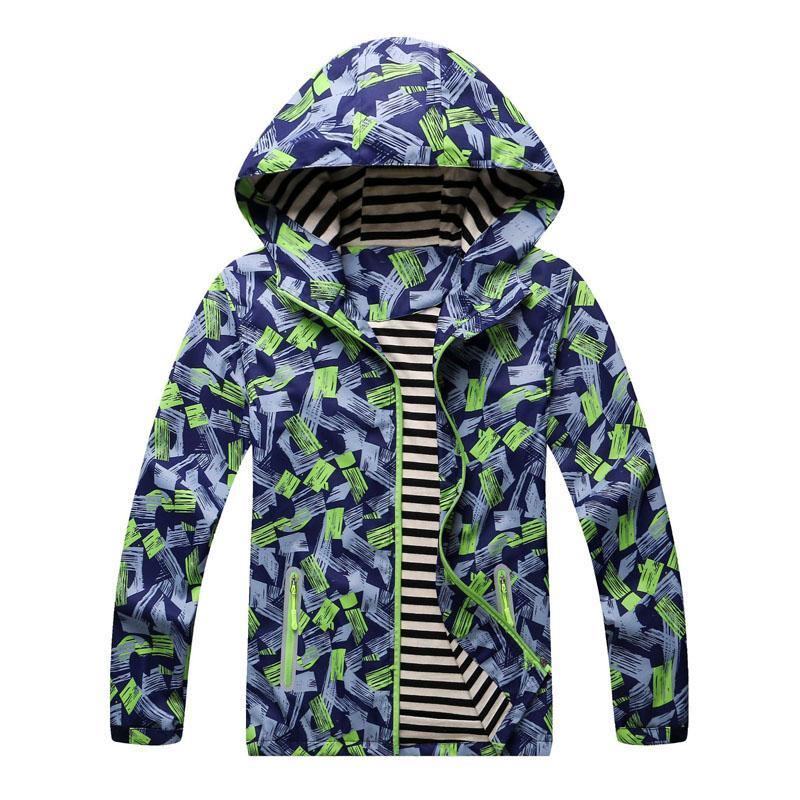 3e7c2e8c1a4c Boys Jackets 3 12 Years Kids Clothes Sport Coat Waterprodf ...