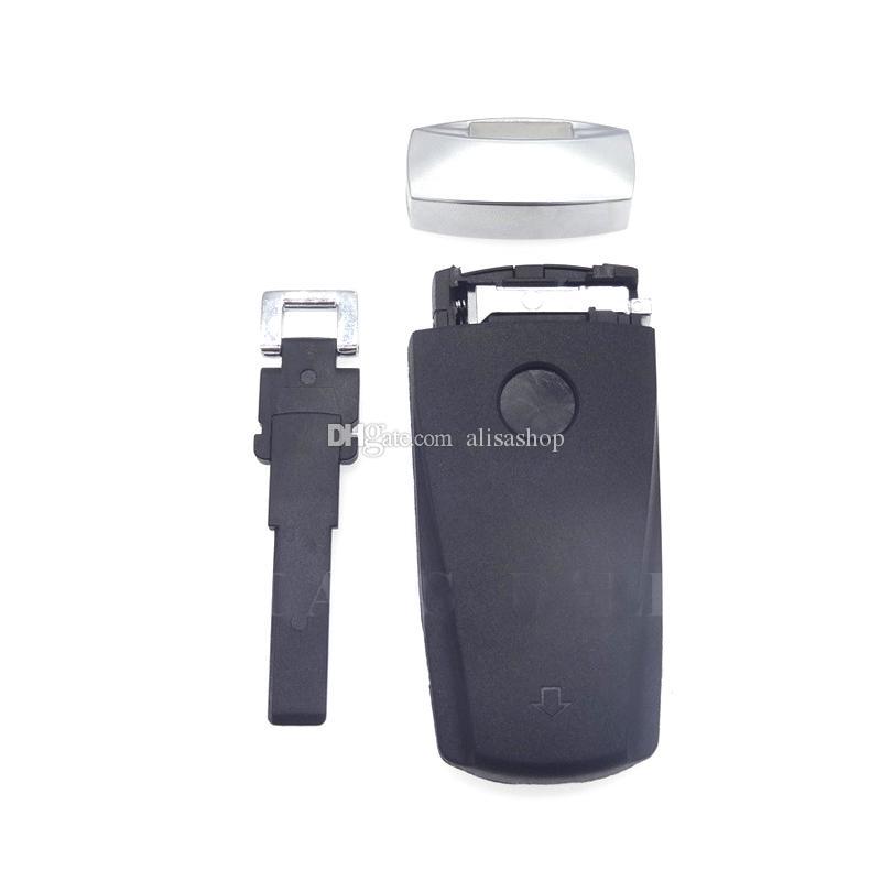 3 Botões Caso De Reposição Inteligente Inserir Em Branco Chave Shell Para VW Passat B6 CC Magotan