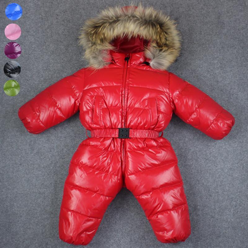 013822acd12d1 Acheter 30 Bébé Fille Combinaisons Russie Hiver Vêtements De Bébé ...