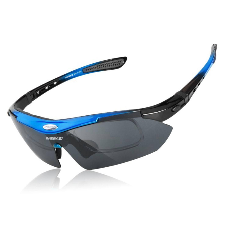 d8def75266 Good Deal-INBIKE Cycling Glasses UV Proof Polarized 5 Lens Frame ...