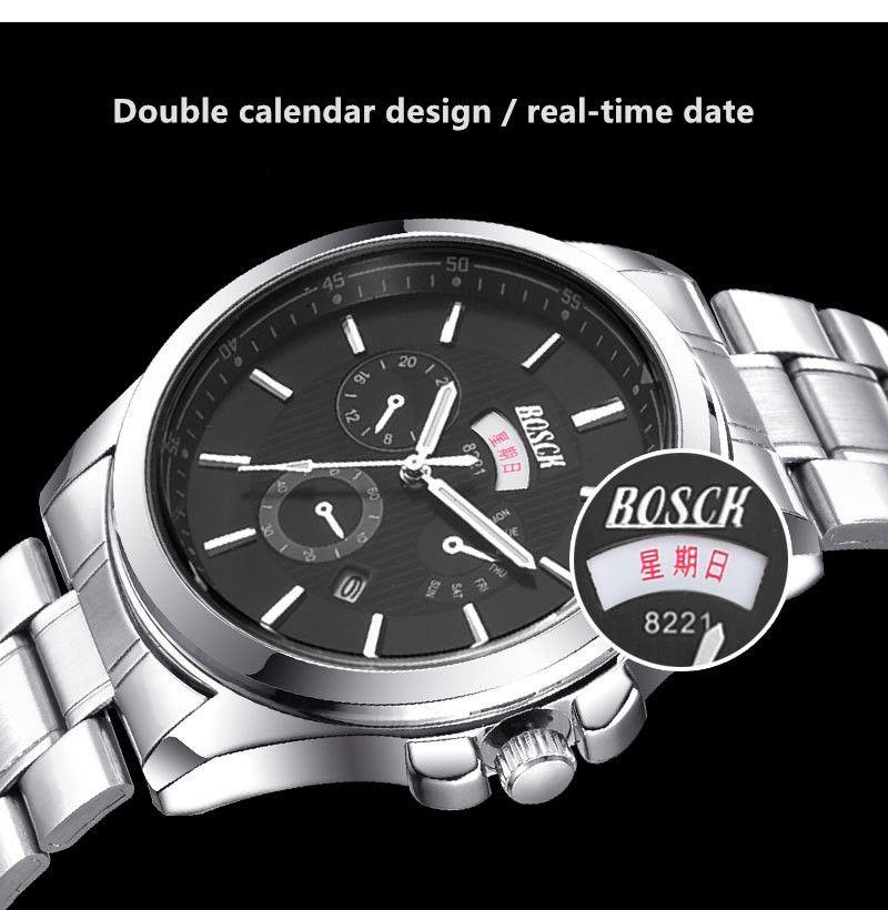 Men's Watches Fanala 2017 Quartz Watch Men Watches Top Brand Luxury Famous Male Clock Wrist Watch Calendar Quartz-watch Relogio Masculino