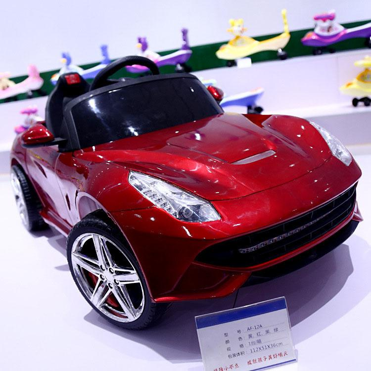 2019 Music Kids Electric Cars Four Wheels Children Toy Car Battery