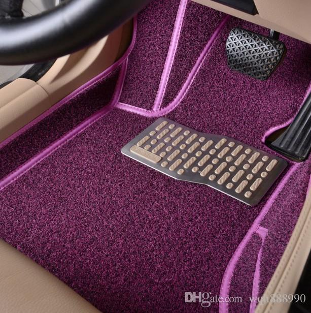 Custom Fit Car Floor Mats For Ford Edge U Fusion Mondeo Focus Mk  All Weather Heavy Duty Car Styling Carpet Liners  From Wqh