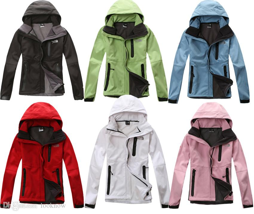 89ca90edf Wholesale-women Waterproof Breathable Softshell Jacket Men Outdoors Sports Coats  women Ski Hiking Windproof Winter Outwear Soft Shell jacket