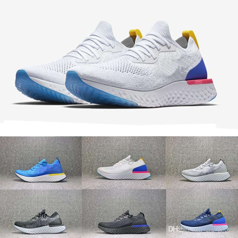4837dec870dd 2018 New Epic React Fly More Colors More Go Women Mens Men Luxury ...