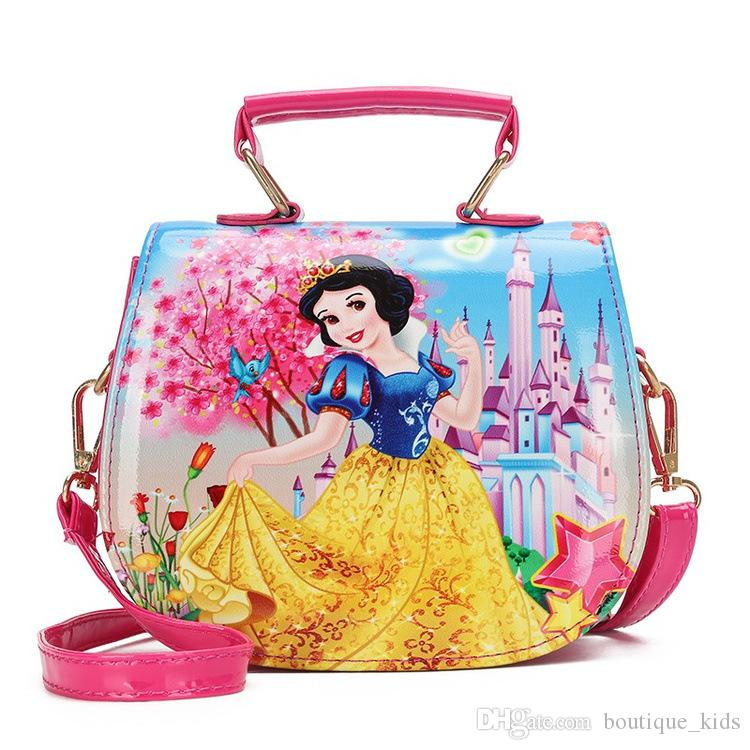 Baby Girls Fashion Princess Handbags Cute Mini Shoulder Bags Kids Coin  Purses Childern Lovely Messenger Candies Bag Christmas Gifts For Kids Girls  Designer ... 521b090391a05