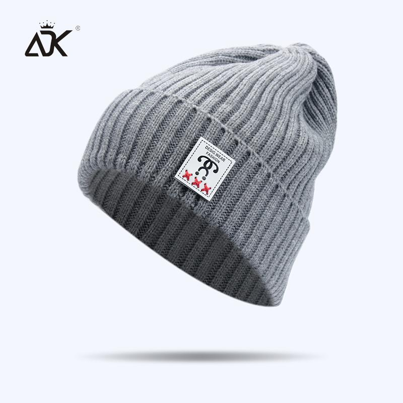 ADK Unisex Winter Autumn Cap Men Male High Quality Casual Fashion Brand  2018 New Beanies For Girls Boys  CAP035 Skullies   Beanies Cheap Skullies    Beanies ... f82b90319f38