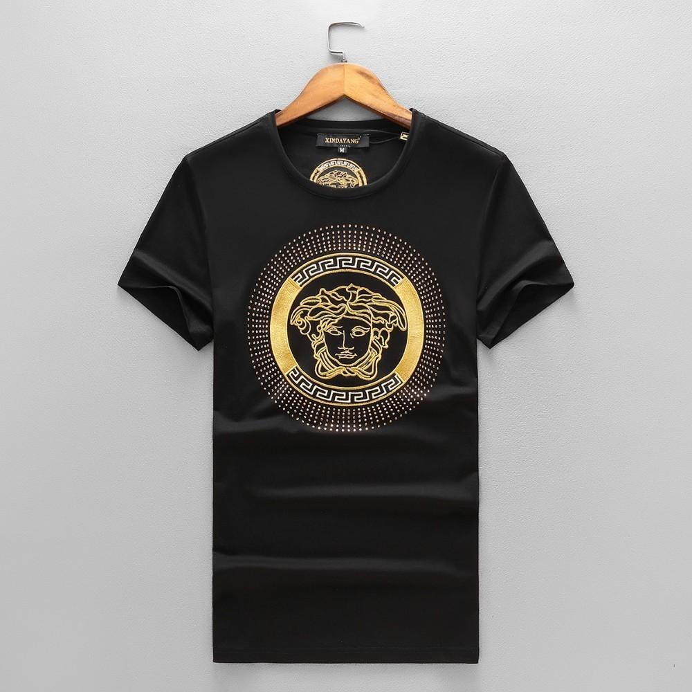 81cb315ce997 T Shirts For Men 2018 Summer Outwear Fashion Brand Classic Design  Embroidery Cotton Blend Short Sleeves New Arrival Hot Sale Make Your Own T  Shirts T Shirt ...