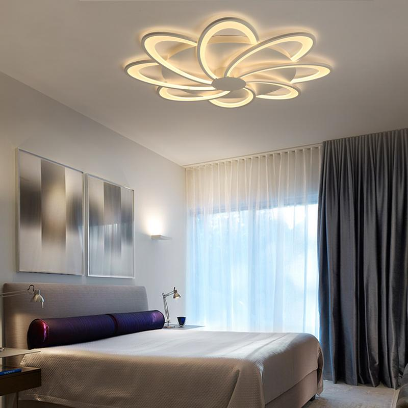 Großhandel Runde Moderne LED Deckenleuchten Dimmbare Wohnzimmer ...