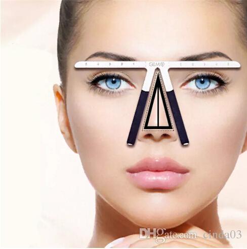 Permanent Makeup Eyebrow Tools Tattoo Eyebrow Ruler Measure Tool Metal Eyebrow Balance Ruler Shaping Stencil Tools Eyeshadow For Blue Eyes Permanent ...