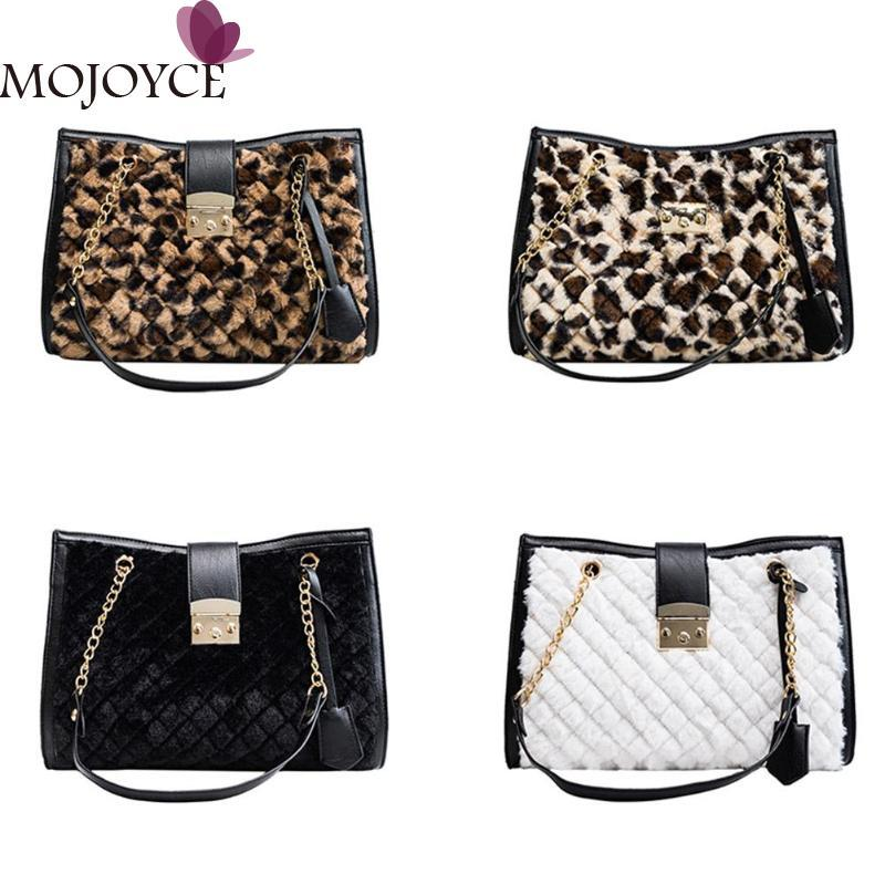 Fashion Design Women Totes Leopard Handbag Shopping Bag For Girls Large  Capacity Chain Female Shoulder Bags Bolsas Feminina Messenger Bags For  Women Leather ... 664f2b133ff72