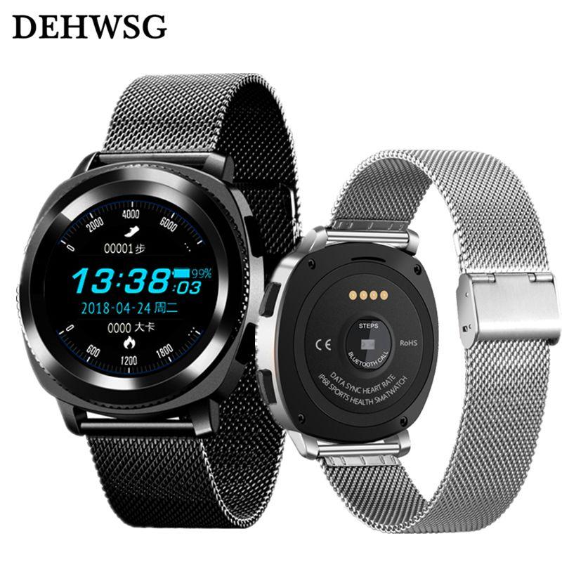 IP68 Waterproof smart watch G3 Heart Rate monitor Sport watch bluetooth  call phone For gear s3 Xiaomi smartwatch