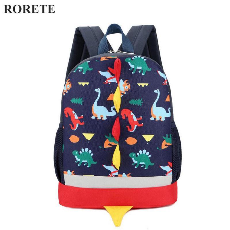 2017 Preppy Kids School Bag Dinosaur Backpack For Boys Children  Backpackindergarten Small SchoolBag Girls Cute Animal Rucksac Backpacks For  Girls Messenger ... 48206b2d28f70