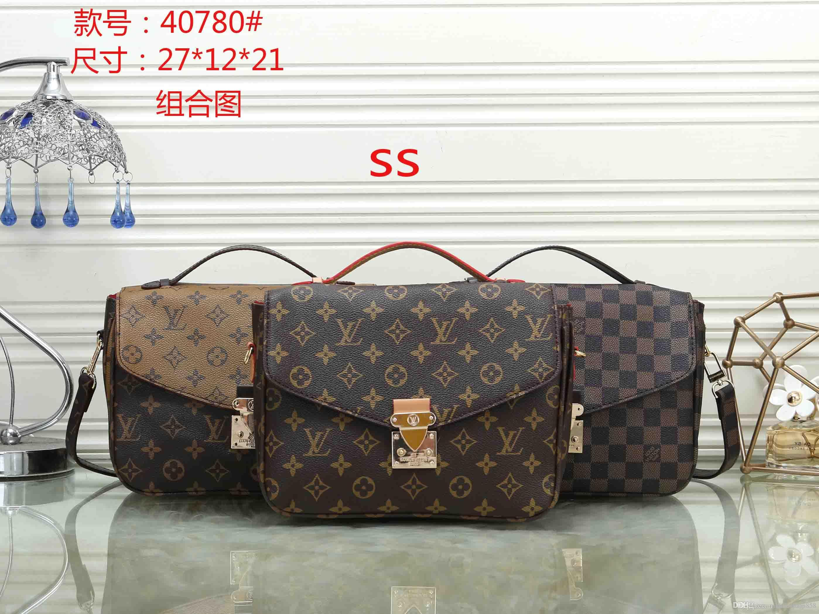 2137212ae5 MK 40780 SS NEW Styles Fashion Bags Ladies Handbags Designer Bags Women  Tote Bag Luxury Brands Bags Single Shoulder Bag Online with  28.42 Piece on  ...