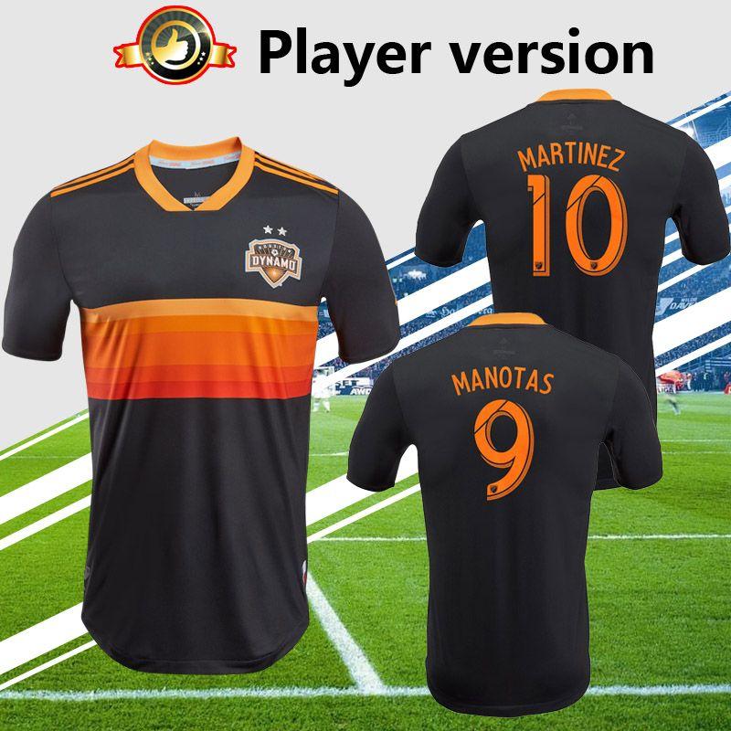 b3d8fbf6606 2019 Player Version MLS DYNAMO 2018/2019 Houston Dynamo Soccer Jersey Away  Soccer Shirt MARTINEZ MANOTAS 2019 Football Uniform From Soccertong, ...